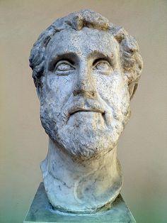 Antoninus Pius, from the Horrea (warehouse) on the Semita dei Cippi, century AD, Ostia Antica, Italy Antoninus Pius, Frozen In Time, Pompeii, Statues, Warehouse, Bodies, Rome, Sculptures, Creatures