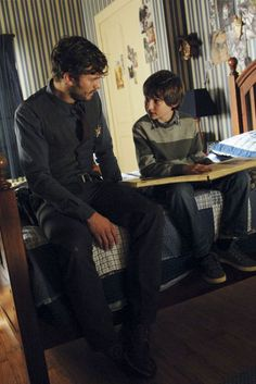 Jamie Dornan in once upon a time ---and a baby henry!!! :)
