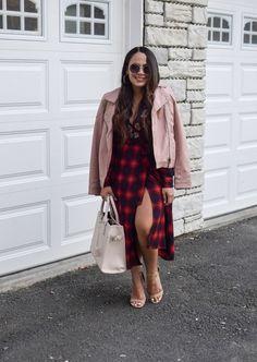 2643f18803 Plaid Wrap Dress  ShopStyle  shopthelook  MyShopStyle Fall Chic