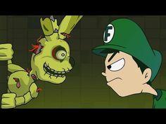 ANIMACIÓN DE Five Nights at Freddy's 3 - Fernanfloo Animado #3 - YouTube