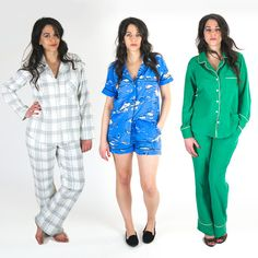 CAROLYN PAJAMAS Pajama Pattern, Pants Pattern, Top Pattern, Sew Mama Sew, Pyjamas, Pjs, Clothing Patterns, Sewing Patterns, Matching Pajamas