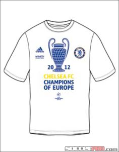 adidas Chelsea Champions League Champions Tee - 2012...$17.99