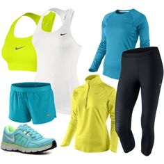 running everything. I really want those running tights that we saw at khols with the neon stripes down the side taht you didnt like... well I love them...