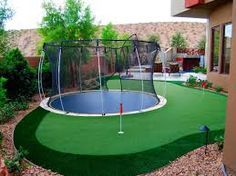 Image result for backyard putting greens