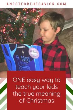 Want to teach your kids about the true meaning of Christmas?