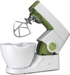 Mit der Kenwood KM 355007 erhalten Sie eine Küchenmaschine der Extraklasse mit einem nostalgischen Touch.