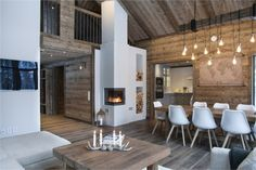 We all know that best ski resorts are in Alps or Pyrenees and best mountain homes are French or Swiss chalets. But do not forget the Scandinavians has ✌Pufikhomes - source of home inspiration Chalet Design, House Design, Bar Design, Chalet Interior, Interior Exterior, Home Interior Design, Cabin Homes, Log Homes, Scandinavian Cottage