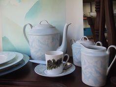 service à café Fragile, Tea Pots, Creations, Tableware, Kitchen, Coffee Set, Dinnerware, Cooking, Tablewares