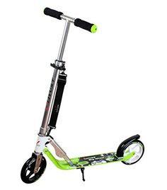 HUDORA 180 Series Kick Scooter 2 Wheels Scooter Smart Transporter Bike Adjustable Foldable Scooter for up to 8 years old with Brake Function DMYY http://www.amazon.co.uk/dp/B0183FEQCQ/ref=cm_sw_r_pi_dp_ls77wb1RV6B57