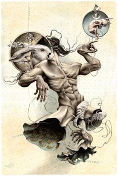Um misto do provocativo com o surreal, estas obras são criações do artista russo Dmitry Vorsin, um cara de 36 anos que mora em Moscow. Dmitry focou parte da sua vida em estudar ecologia, mas tempos depois acabou seguindo sua paixão de infância. Autodidata, o artista usa lápis e aquarelas para dar vida em suas (...)