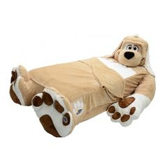 Incredibeds: Floppy  Dog Twin Bed Frame with Bedding.
