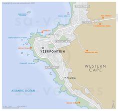 YZERFONTEIN Map