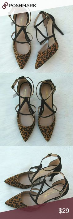 Leopard Print High Heels Size 9.5 Christian Siriano For Payless. Brand new in box .  LHP 20 Christian Siriano Shoes Heels