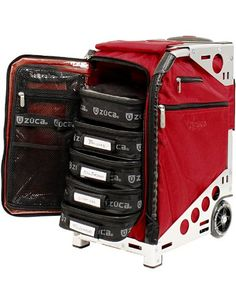 ZUCA PACRUBSLV Pro Artist Case Ruby On Silver Frame  89055900371 >>> Click image to review more details.