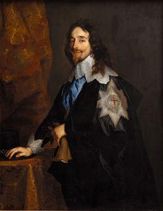 VAN DYCK Sir Antoon van Dyck - Flemish (Antwerpen 1599-1641 Londen) ~ King Charles I of England 1638