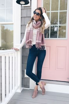Scarf Outfit Ideas for Fall Casual Fall Outfits 9d7e27746