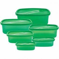 Dózy sada 10ks plastové BLAUMANN. Plastové dózy sada 10 kusov Blaumann AS-0035 + igelitové vrecká 20 kusov. Všetky dózy majú veko. Farba zelená. Objem a rozmery dóz v detailoch produktu