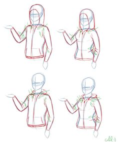 how to draw hoodies - Google Search