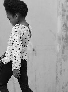 Look fille IKKS Kid : blouse et jean pailleté Hiver 15 #FW15 #GirlsFashion