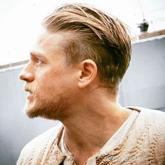 Possibly my favourite portrait shot of Charlie Hunnam: this is a profile not a portrait retard