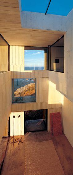 Poli House by Pezo von Ellrichshausen, Chile