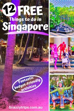 Free Things To Do In Singapore - SNAZZY TRIPS TRAVEL BLOG -  Singapore doesn't have to be out of your budget, with these fun and free things to do there. #singaporeblog #singaporetravel #travelsingapore #singaporetrip #snazzytrips