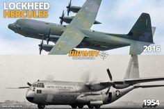 Lockheed C-130 Hercules, mais famoso avião de transporte militar da história