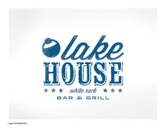 Lake House Bar & Grill - Bearded Dog Design - The Studio of Katie O'Malley