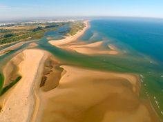 Cacela Velha and Ria Formosa aerial view - Algarve