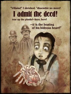 The Tell-tale Heart on the iPoe app volume 1.