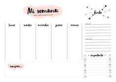 Planner 2018, Agenda Planner, Teacher Planner, Day Planners, Life Planner, Bullet Journal School, Bullet Journal Inspiration, Journal Ideas, Week Planer