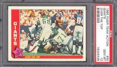 1985 Fleer Team Action #55 Giants Over Top PSA 10 pop 2 by Fleer. $12.25. 1985 Fleer Team Action #55 Giants Over Top PSA 10 pop 2. If multiple items appear in the image, the item you are purchasing is the one described in the title.
