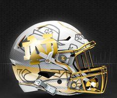 JIM SMALL'S NOTRE DAME GO IRISH BLOG -- www.NDGOIRISH.com -- A NOTRE DAME BLOG: Notre Dame Helmet Design Concepts -- WOW!