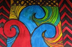 vivid and dyes - Calendar art? Lots of other great lesson ideas on this wikispace