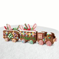 Wilton Build It Yourself Chocolate Cookie Train Decorating Kit #loghomedecorating