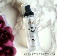 Milani make it last setting spray review. Click to read more