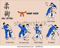 Judo et jiu jitsu techniques Krav Maga Techniques, Jiu Jitsu Techniques, Martial Arts Techniques, Self Defense Techniques, Art Techniques, Krav Maga Kids, Learn Krav Maga, Karate, Aikido