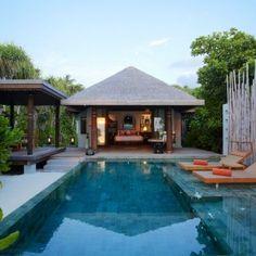 Enchanting Anantara Kihavah Villas: Secluded Wonders In Maldives:  Anantara Kihavah Villas Photo 01: Beach Pool Villa