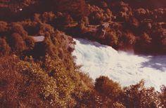 Huka Falls near Taupo in 1985.