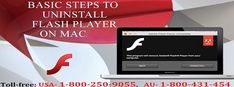 To know How to uninstall Flash Player on Mac or MacBook read this blog page or call 1800-250-9055 to get online support. A step-by-step process has been described to remove the Flash Player on Mac or MacBook with safety. Online support is available for MacBook devices to fix flash player issues on Mac.
