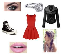 """Outfit #32"" by isabella-devito on Polyvore featuring Converse and Fiebiger"