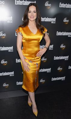 """Madeleine Stowe (""""Revenge"""") attends the Entertainment Weekly and ABC Upfront VIP Party at Dream Downtown on May 15, 2012 in New York City."""
