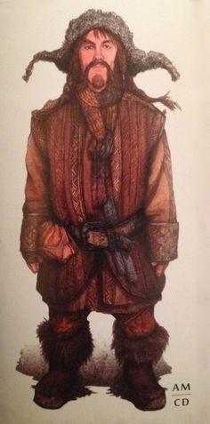 "hobbit bofur art | Concept art of Bofur from ""The Hobbit: An Unexpected Journey"" (2012 ..."