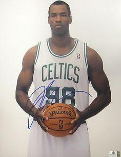 Jason Collins Hand Signed Autographed 11x14 Photo Boston Celtics GA 758192