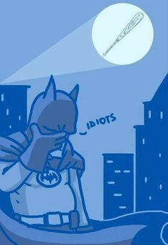 There seems to be some misunderstanding in Gotham City.