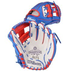 Anthony Rizzo Chicago Cubs Fanatics Authentic 2016 MLB World Series Champions Autographed Wilson A2000 Commemorative Champions Glove - $799.99