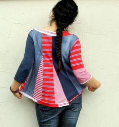 final de reciclado blusa de verano venta rayas polo por jamfashion