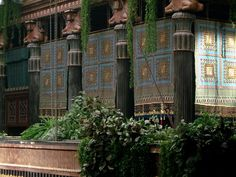 Babylonian palace movie set Alexander (pic from Flickr)