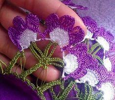 Elsa, Crochet Necklace, Knitting, Flowers, Handmade, Crochet Flowers, Crochet Towel, Towels, Learning