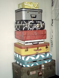 House of Chic and Penoche: Part II. Suitcases